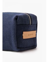 Mango | Blue Zip Cosmetic Bag | Lyst