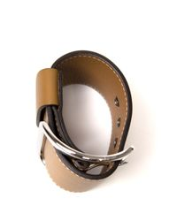 Givenchy | Natural Wide Buckle Cuff | Lyst