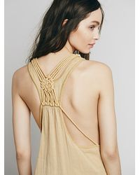 Free People - Natural One And Only Tank - Lyst