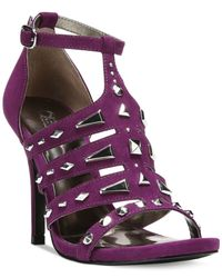 Carlos By Carlos Santana | Purple Power Dress Sandals | Lyst
