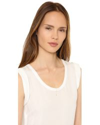 Zoe Chicco | Metallic Trio Short Lariat Necklace | Lyst