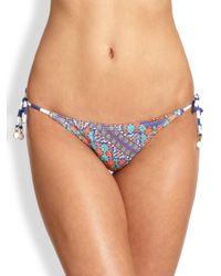 OndadeMar | Multicolor Essence Bikini Bottom | Lyst