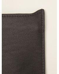 Emporio Armani - Black Phone Case - Lyst
