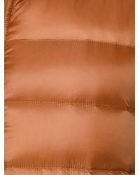 Herno - Brown Reversible Padded Gilet for Men - Lyst