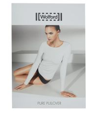 Wolford - Black Tulle Pullover - Lyst
