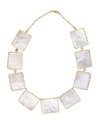 Lana Jewelry | White Costa Blanca Mother-Of-Pearl Necklace | Lyst