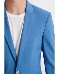Forever 21 | Blue Two-button Blazer for Men | Lyst