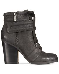 Kenneth Cole Reaction | Black Women's Might Rocket Booties | Lyst