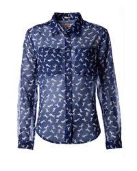 Tommy Hilfiger | Blue Hermina Shirt | Lyst