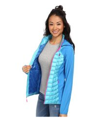 The North Face - Blue Thermoball™ Hybrid Hoodie - Lyst