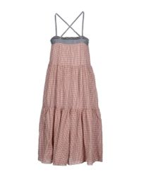 B.D. Baggies - Pink Knee-length Dress - Lyst