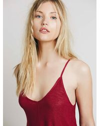 Free People - Red Swing Fling Cami - Lyst