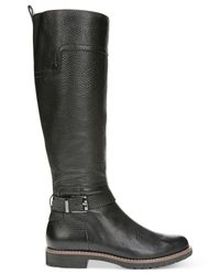 Franco Sarto | Black Chandler Tall Boots | Lyst