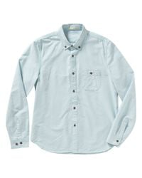 Alternative Apparel - Blue Yoto Oxford Button Up Shirt for Men - Lyst