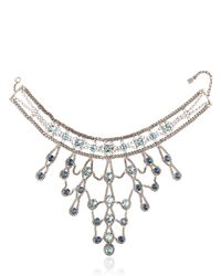 DANNIJO | Blue Farrah Necklace | Lyst