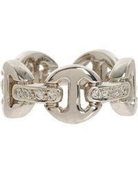 Hoorsenbuhs | White Dame Tri-link Ring | Lyst