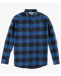 Cheap Monday | Blue Neo Flannel Shirt for Men | Lyst