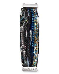 Hipanema - Blue Panthere Bracelet - Lyst