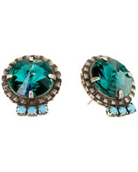 DANNIJO | Blue Bracco Earrings | Lyst