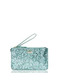 kate spade new york | Blue Glitter Bug Slim Bee | Lyst