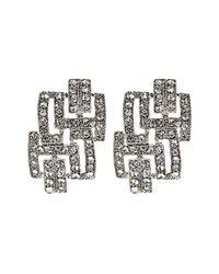 Coast - Metallic Deco Earrings - Lyst
