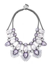 BaubleBar | Purple Phoenix Bib | Lyst