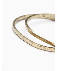 Free People | Metallic Simple Bangle Duo | Lyst