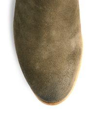 Alberto Fermani - Natural Suzzara Suede Ankle Boots - Lyst