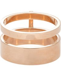 Repossi | Metallic Berbere Module Ring | Lyst