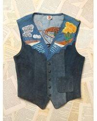 Free People - Multicolor Vintage Embroidered Vest - Lyst