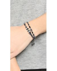 Chan Luu - Beaded Bracelet Set - Black Mix - Lyst