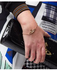 Vivienne Westwood - Metallic Mini Bas Relief Bracelet - Lyst
