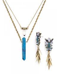 BaubleBar - Metallic Antarctica Jewelry Duo - Lyst