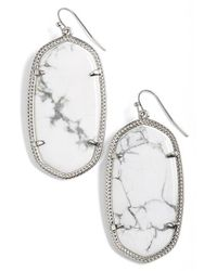 Kendra Scott - Metallic 'danielle' Drop Earrings - Lyst