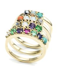 "Lulu Frost - Metallic Code 18kt ""cool"" Ring - Lyst"
