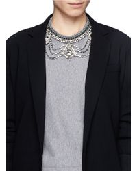 Venessa Arizaga - Metallic 'high On Your Love' Necklace - Lyst