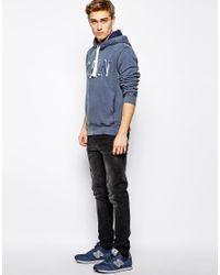 Pepe Jeans - Blue Hoodie Kostas for Men - Lyst