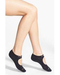 Calvin Klein | Black Pilates Liner Socks | Lyst