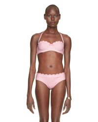 kate spade new york | Pink Marina Piccola Scalloped Underwire Bra | Lyst