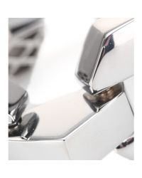 Marc By Marc Jacobs - Metallic Metal Bolt Link Chain Bracelet - Lyst