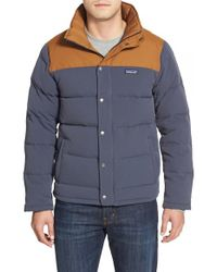 Patagonia - Blue 'bivy' Down Jacket for Men - Lyst