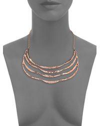 Alexis Bittar - Metallic Miss Havisham Liquid Crystal Tiered Bib Necklace for Men - Lyst