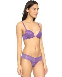 Cosabella - Purple Never Say Never Sexie Push Up Bra - Lyst