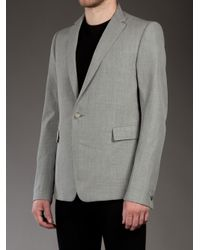 Carol Christian Poell - Gray Wool Blazer for Men - Lyst