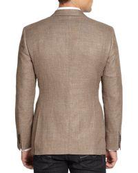 Giorgio Armani - Natural Twill Blazer for Men - Lyst