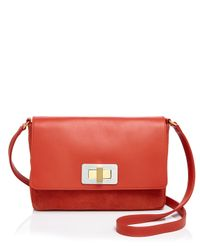 Olivia Clergue - Orange Gisele Shoulder Bag - Lyst