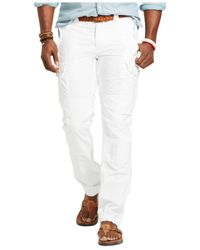 Polo Ralph Lauren | White Big & Tall Classic-fit Ripstop Cargo Pants for Men | Lyst