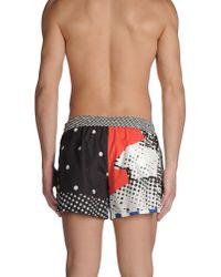 Dolce & Gabbana - Black Swimming Trunks for Men - Lyst
