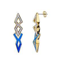 Noir Jewelry - Metallic Grenadines Earring - Lyst