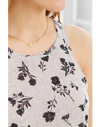 BDG - Multicolor Printed Cut-in Tank Top - Lyst